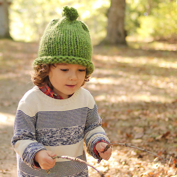 1 Hour Kids Hat Knitting Pattern