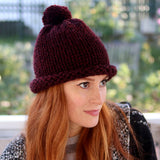 1 Hour Women & Mens Hat Knitting Pattern