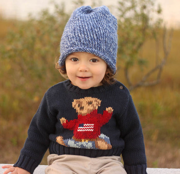 Baby Slouch Hat Knitting Pattern