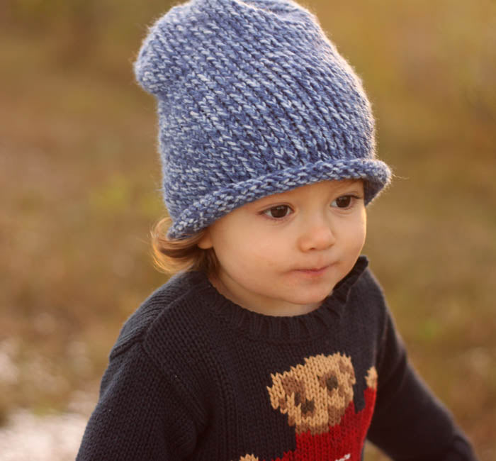 Baby Slouch Hat Knitting Pattern Gina Michele Knitting