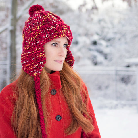 Chunky Ear Flap Hat