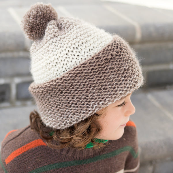 Easiest Flat Knit Kid's Hat