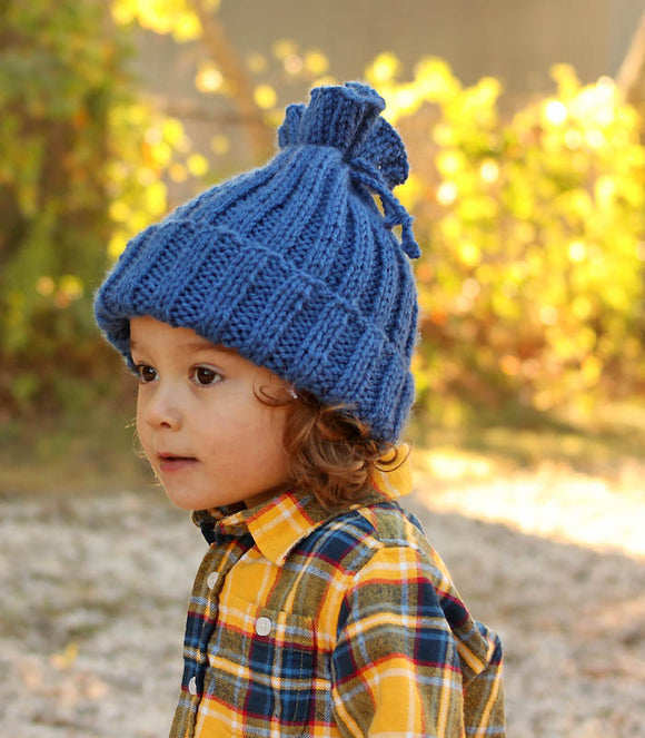Easiest Kids Hat Knitting Pattern