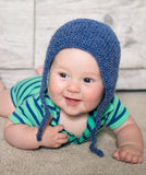 Flat Knit Bonnet Knitting Pattern