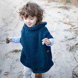 Kid's Poncho Knitting Pattern