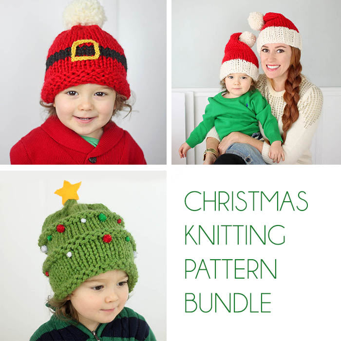 Christmas Knitting Pattern Bundle