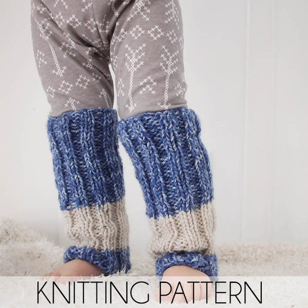 Toddler Leg Warmers Knitting Pattern