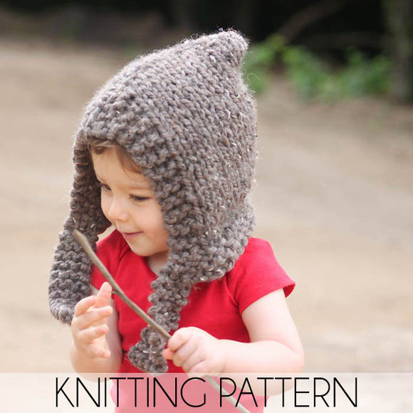 Easy Hood Knitting Pattern