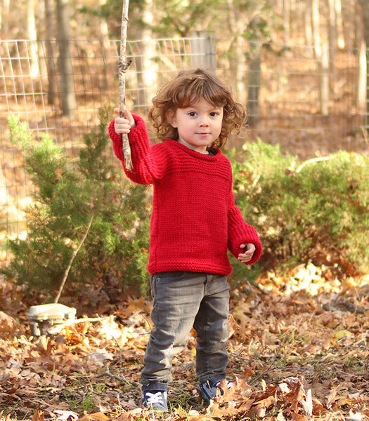 Easy Toddler Sweater Knitting Pattern