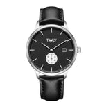 TW4209 TWLV Mr. Jones Black Strap Steel Watch