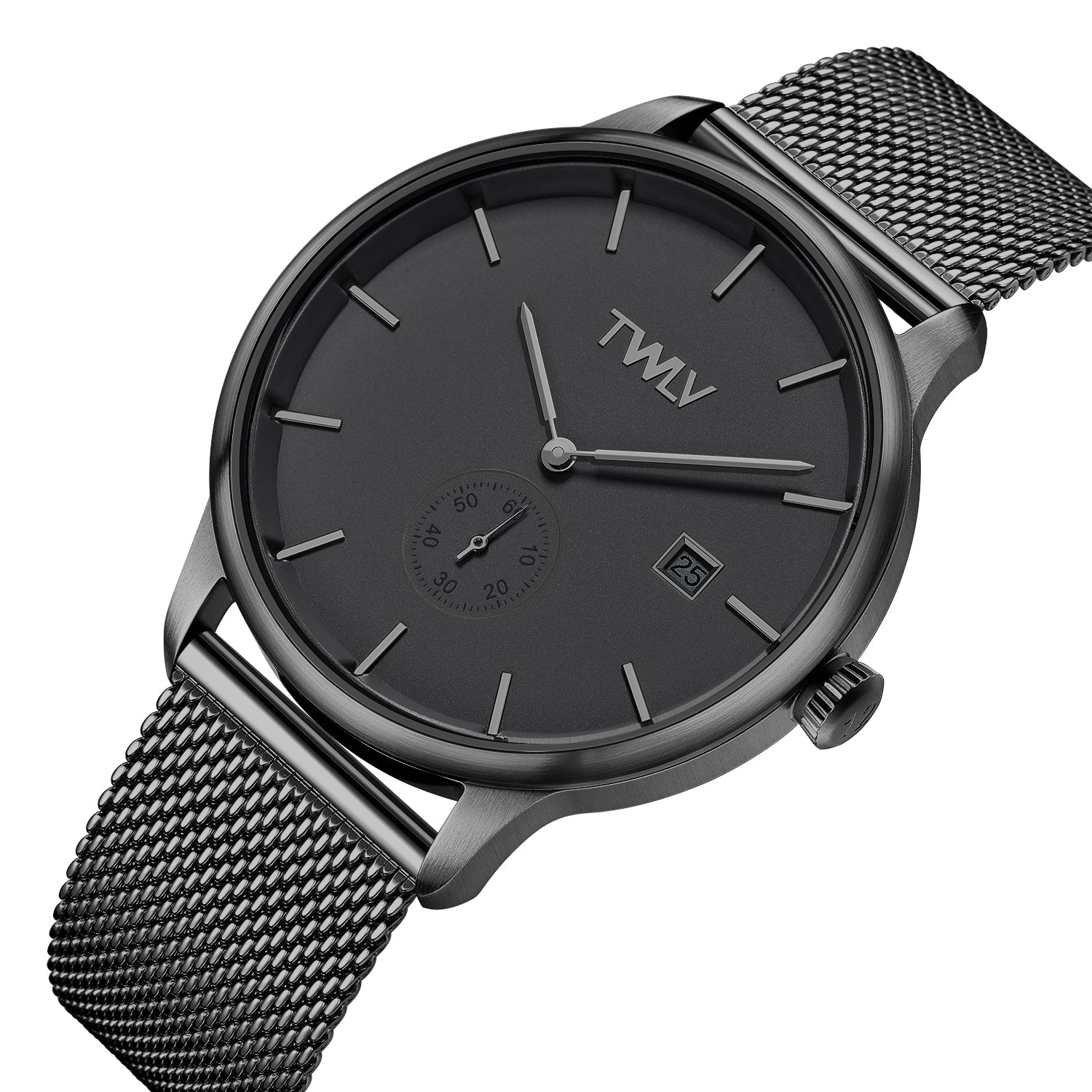 TW4207 Mr. Jones Gun Metal Mesh Watch