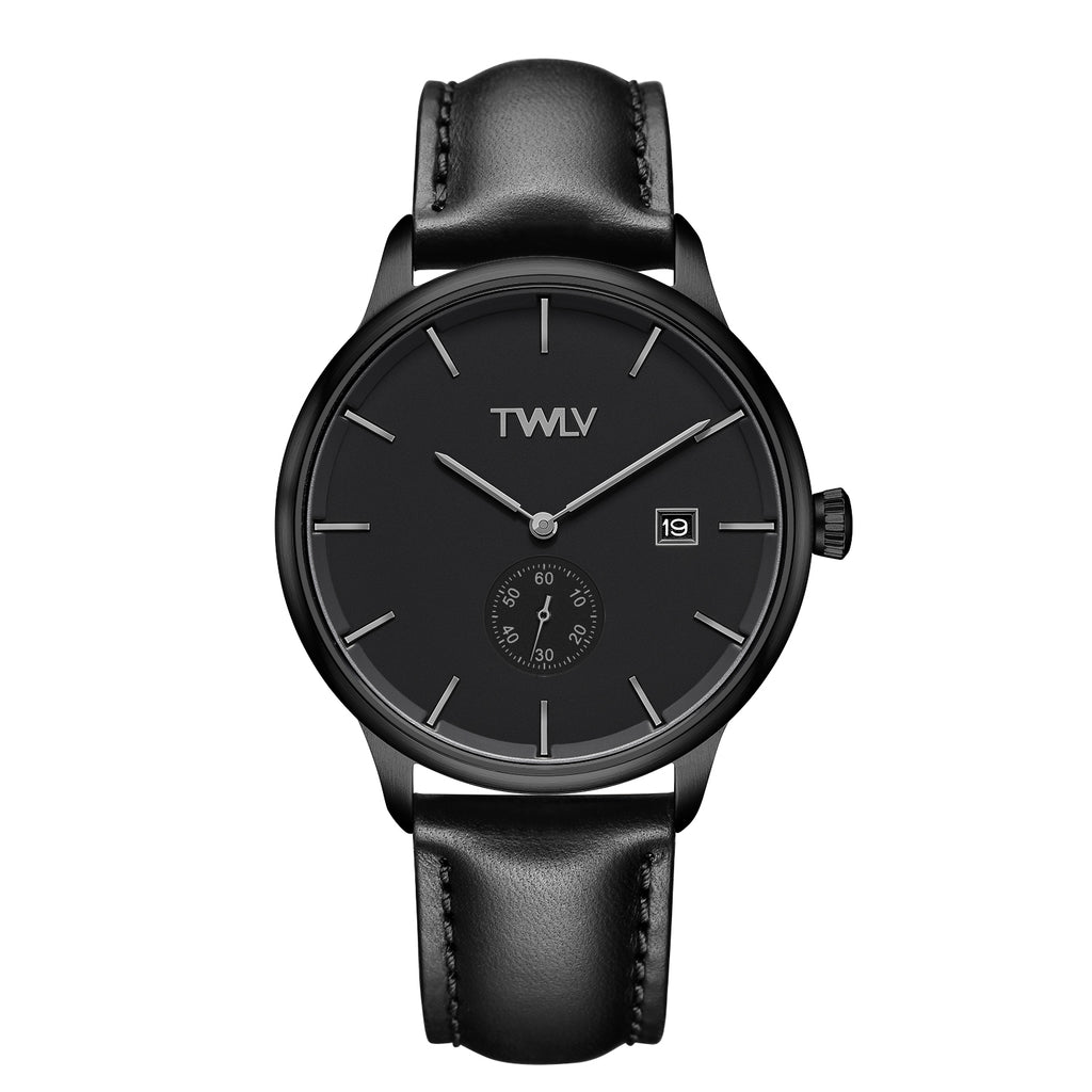 TW4206 Mr. Jones Black Strap BLACK IP Watch