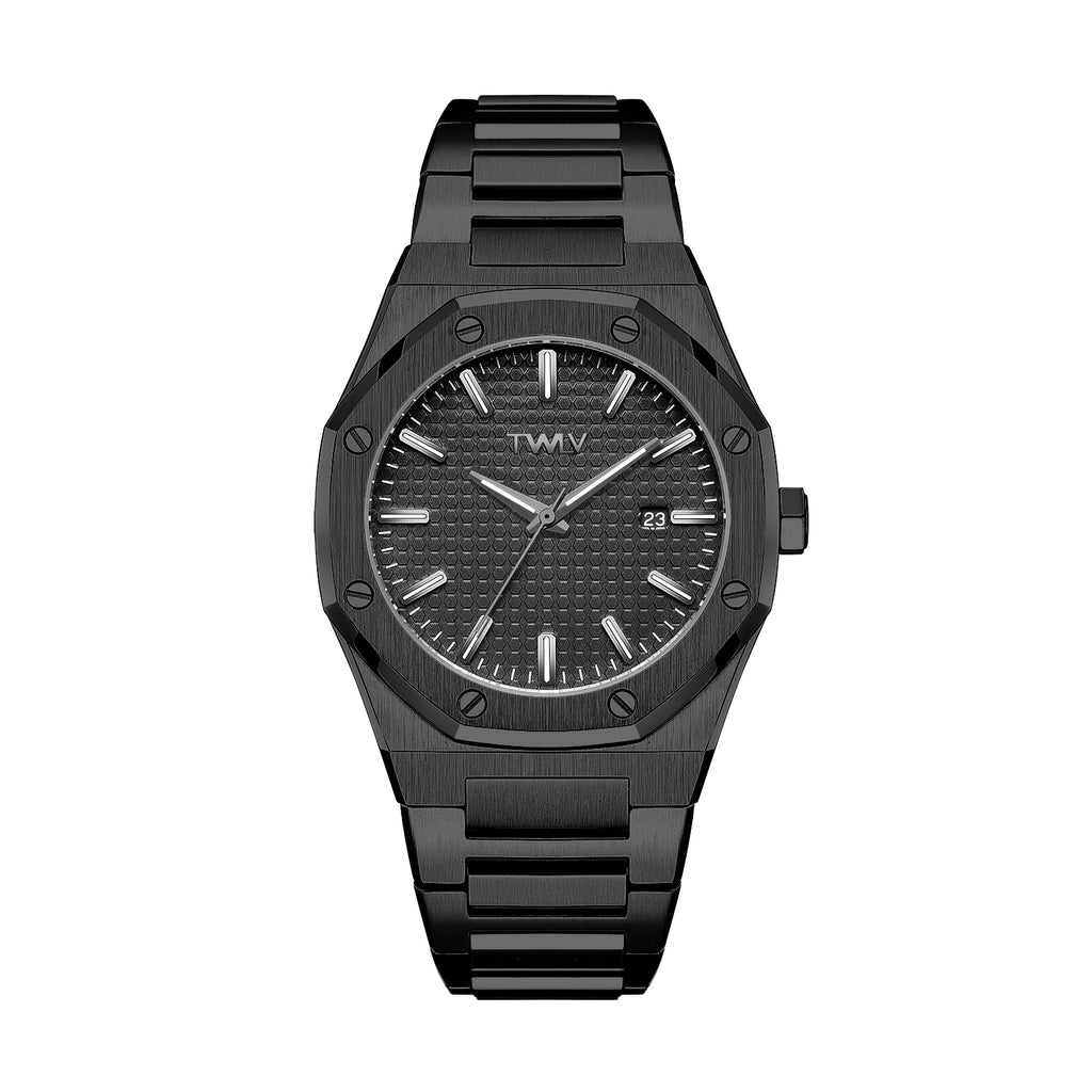 TW3504 TWLV Mr Darcy Black on Black Watch