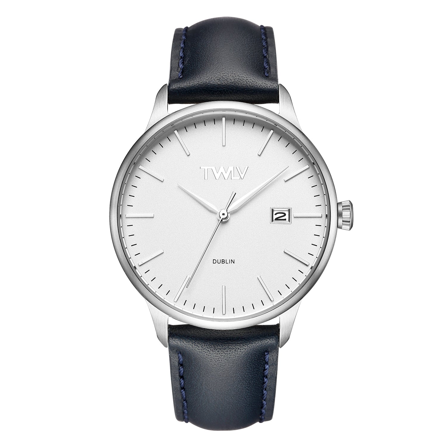 TWLV Mr. Smith Navy Strap Steel Watch