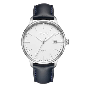TW4302 TWLV Mr. Smith Navy Strap Steel Watch