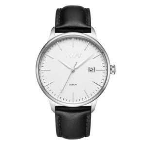 TW4303 TWLV Mr. Smith Black Strap Steel Watch