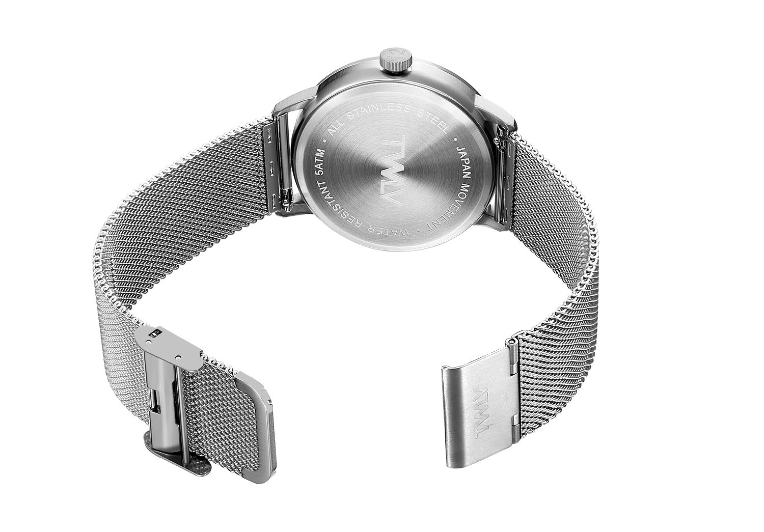TW4411 TWLV Mr. King Silver Mesh Steel