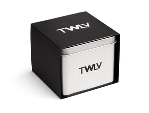 TWLV Mr. Power Black Dial & Steel Watch
