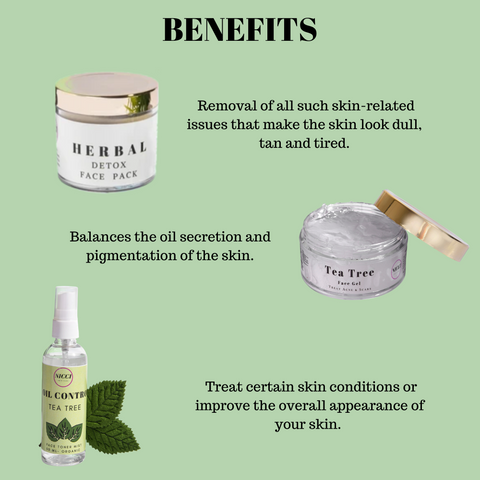 Benefits of Acne kit