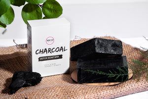 Charcoal Detox Soap Bar - Nicci Skin Care