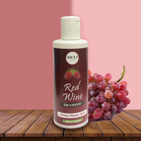 Wine Shampoo - Nicci Skin Care