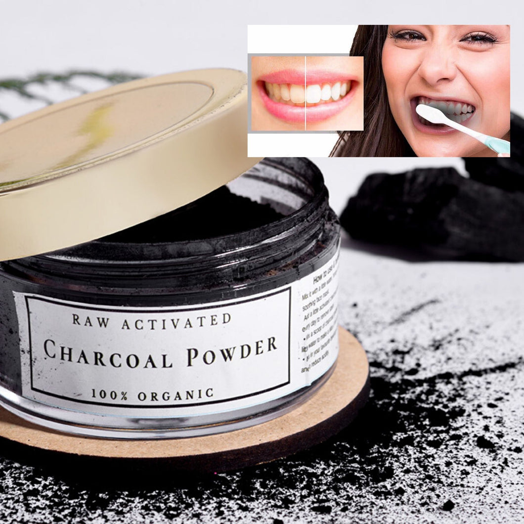 Raw Activated Charcoal Powder - Nicci Skin Care