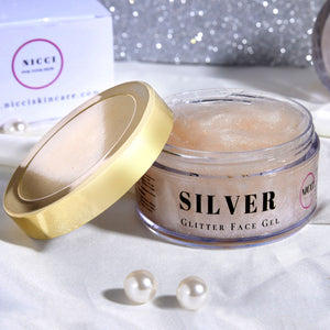 Silver Dust Night Gel - Nicci Skin Care