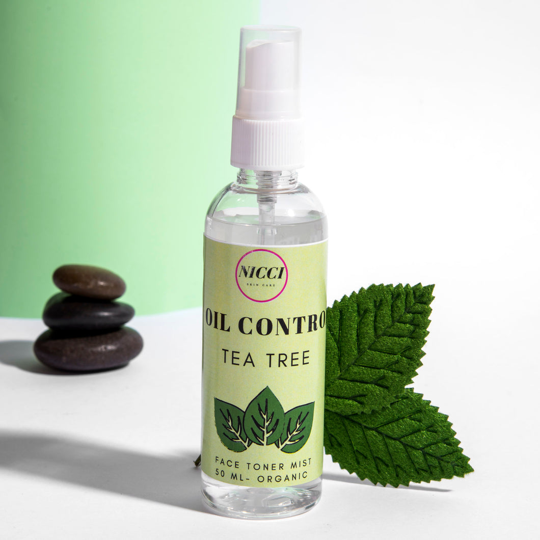 Tea Tree Face Toner Mist - Nicci Skin Care