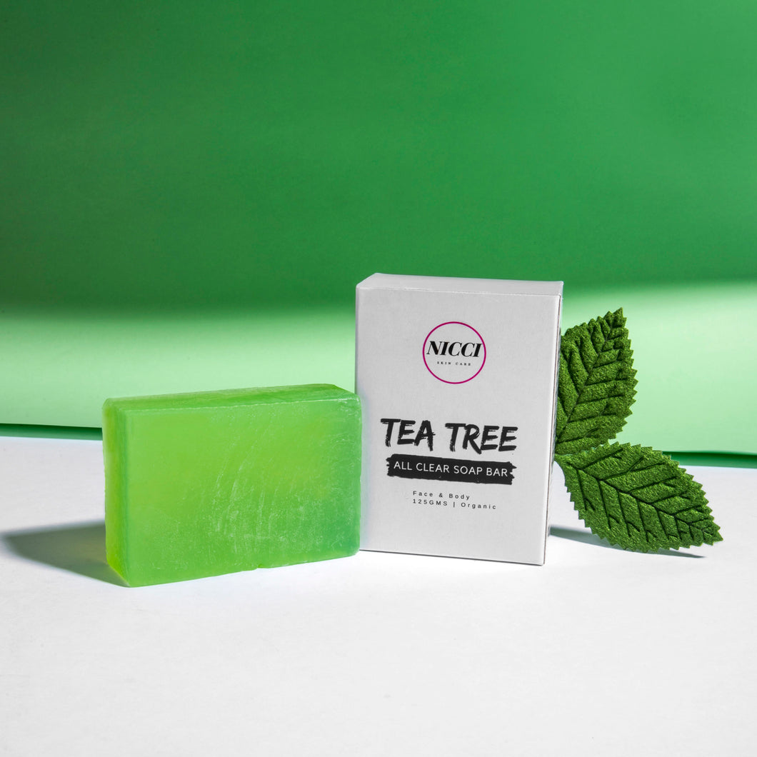 Tea Tree All Clear Soap - Nicci Skin Care