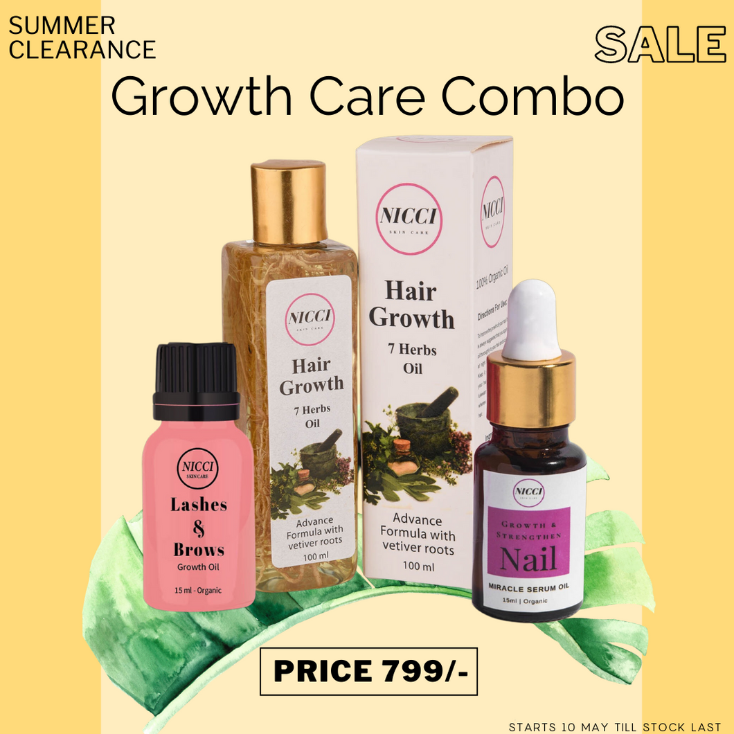 Growth Care Combo - Nicci Skin Care
