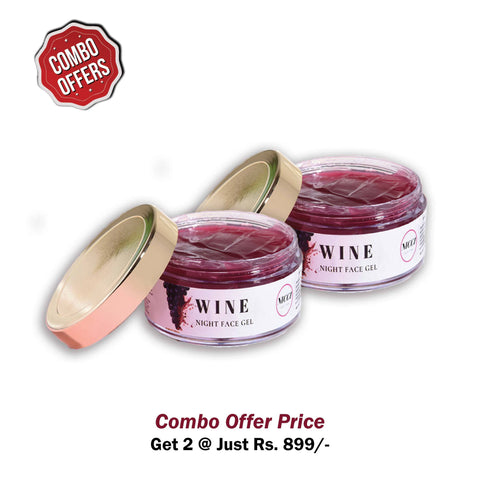 Nicci Wine Night Gel - Nicci Skin Care