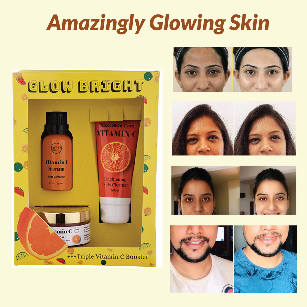 Nicci Glow Bright Kit - Nicci Skin Care