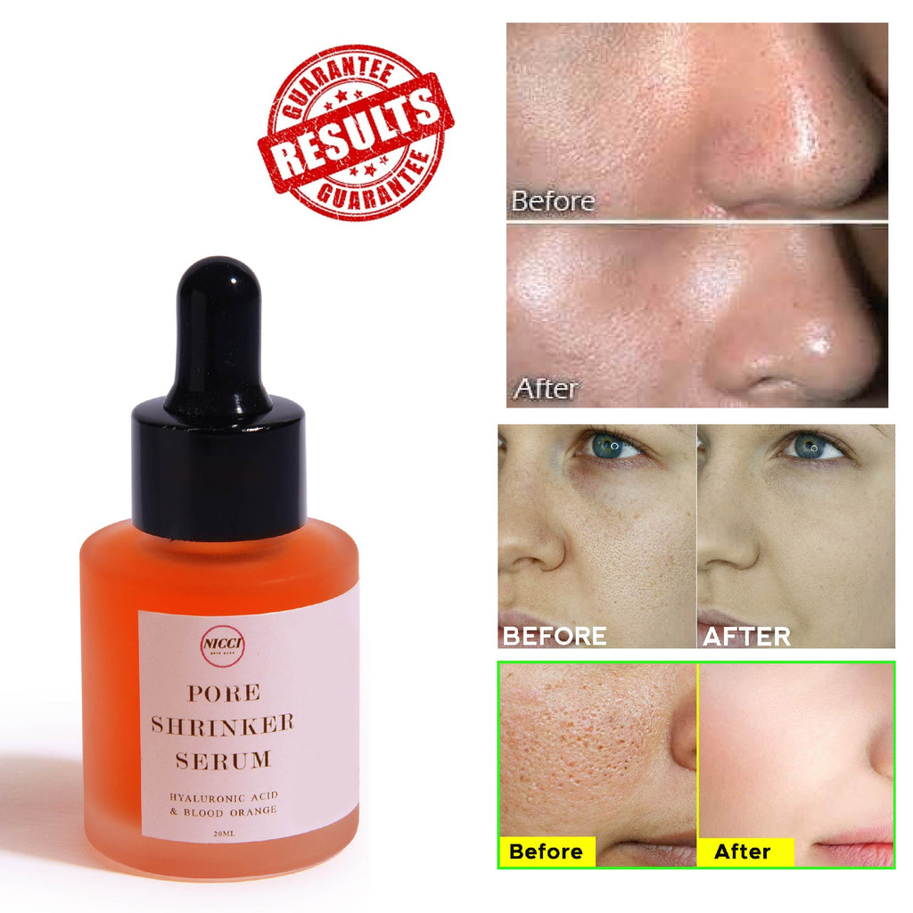 Pore Shrinker Serum ( Hyaluronic) - Nicci Skin Care