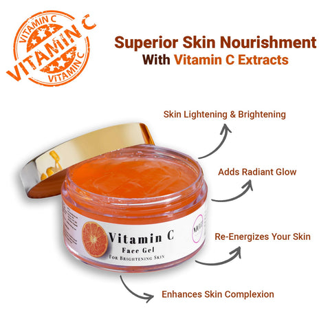 Nicci Vitamin C Face Gel - Skin Brightening Booster - Nicci Skin Care