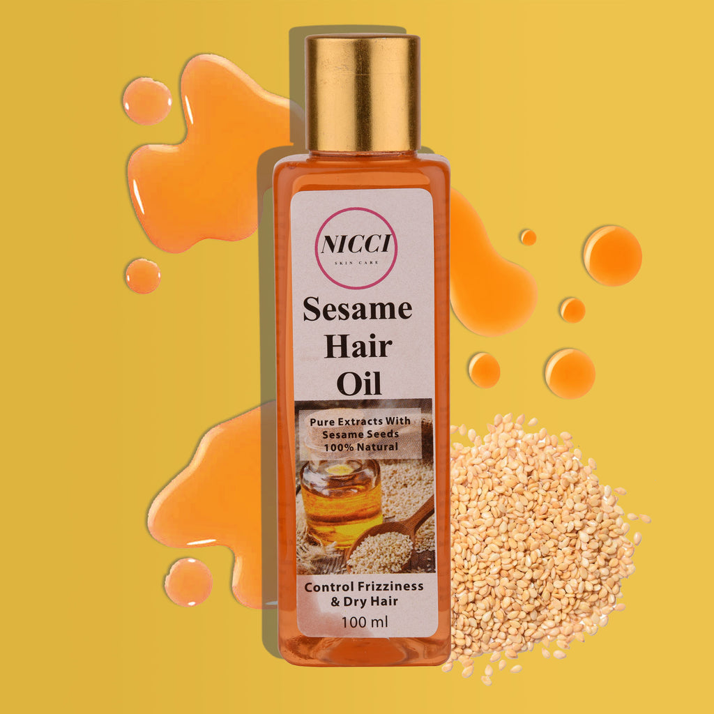 Sesame Seed Hair Oil - Nicci Skin Care
