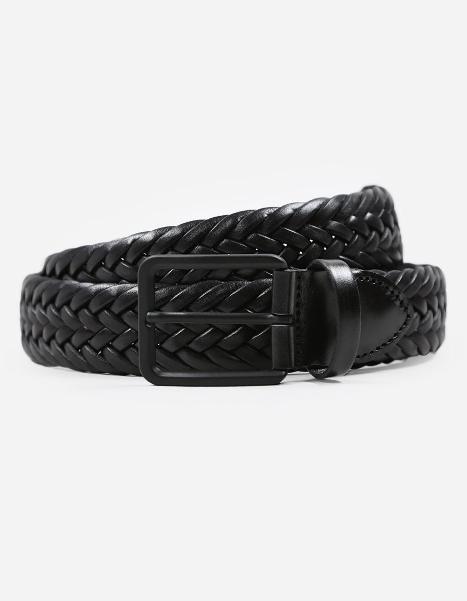 9618,Woven Leather Belt