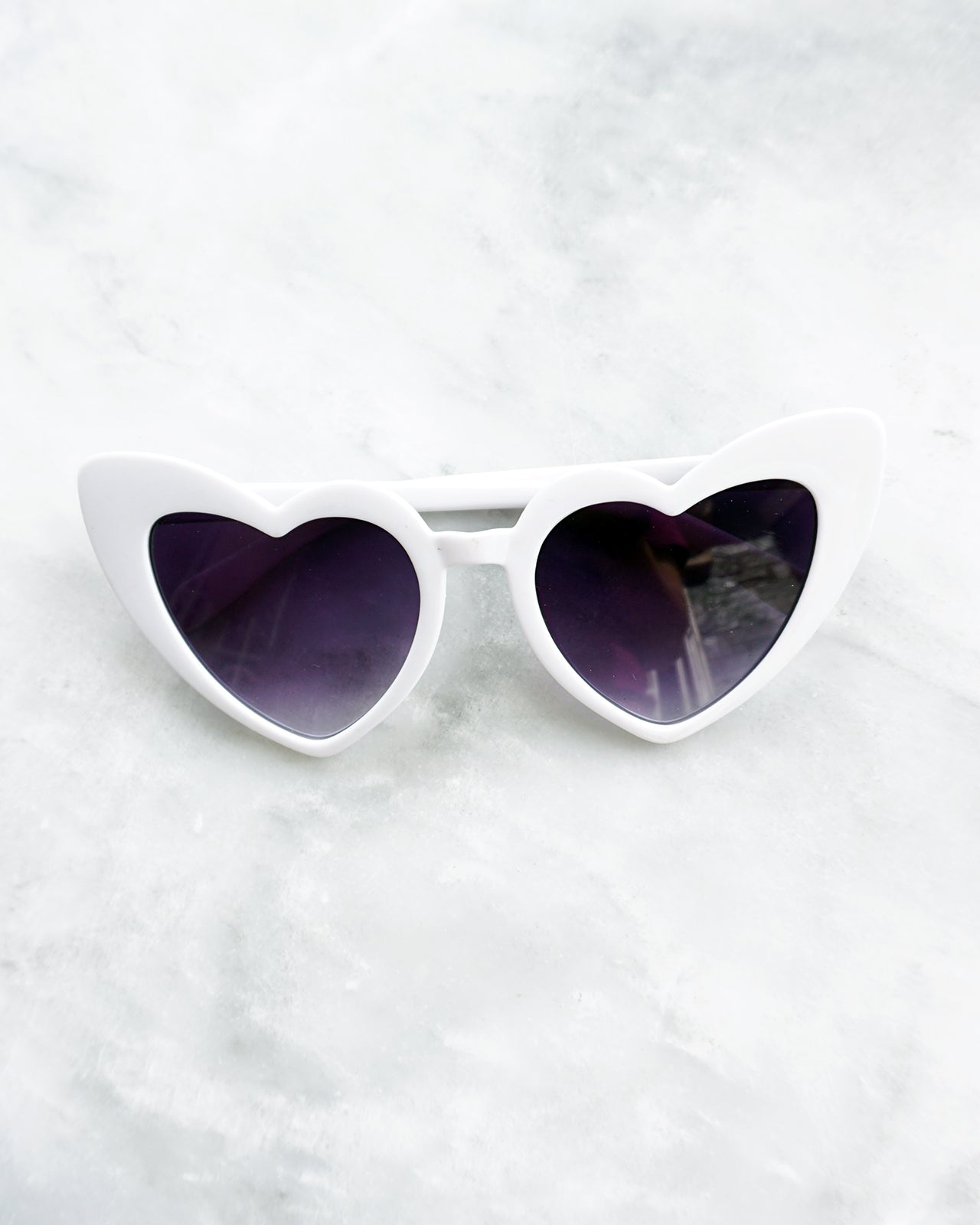Lauren Sunglasses in White