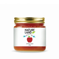 Natureland Organics Apple Jam 250 Gm - sai-organics-pte-ltd