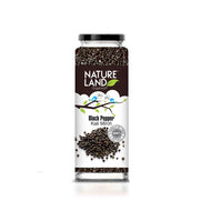 Natureland Organics Black Pepper 100 Gm - sai-organics-pte-ltd