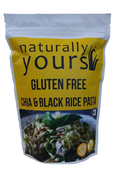 Naturally Yours Gluten-Free Chia & Black Rice Pasta 200g