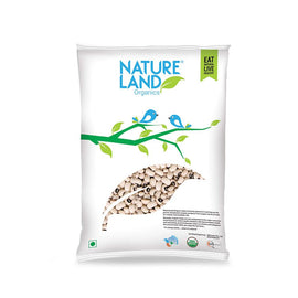 Natureland Organics Cowpea Black eye 500 Gm - sai-organics-pte-ltd