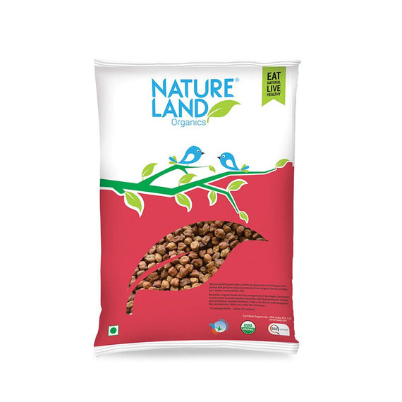 Natureland Organics Chana whole 500 Gm - sai-organics-pte-ltd