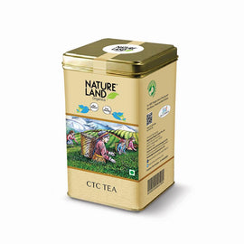 Natureland Organics CTC Tea 250 Gm - sai-organics-pte-ltd