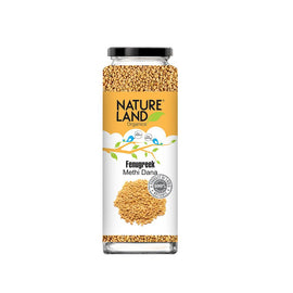 Natureland Organics Fenugreek 150 Gm - sai-organics-pte-ltd