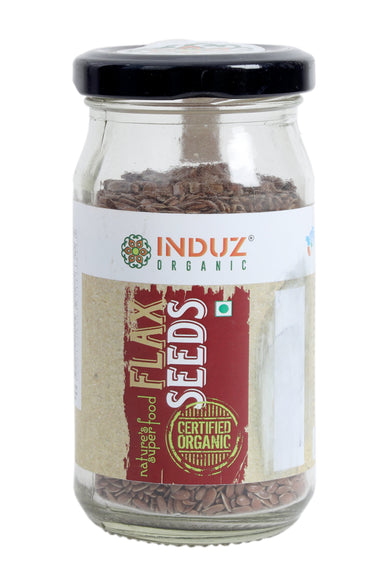 Induz Organics Flaxseed Seeds 100 Gm