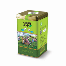 Natureland Organics Green Tea 200 Gm - sai-organics-pte-ltd