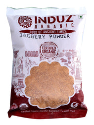 Induz Organics Jaggery Powder 500 Gm