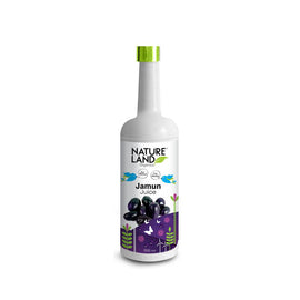 Natureland Organics Jamun Juice 500 Ml - sai-organics-pte-ltd