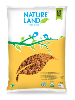 Natureland Organics Jaggery Powder 500 Gm - sai-organics-pte-ltd