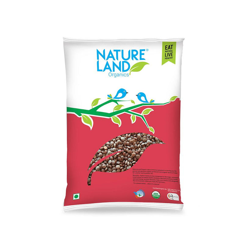 Natureland Organics Masur whole 500 Gm - sai-organics-pte-ltd